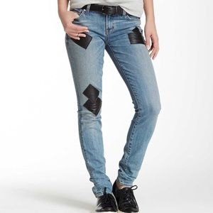 TEXTILE Elizabeth and James Neil Patches jeans